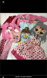 Girl bundle clothing