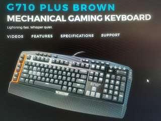 Logitech G710+ Mechanical Gaming Keyboard Brown Switch