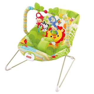 I-baby infant to toddler musical vibration rocking chair AB50652 GREEN