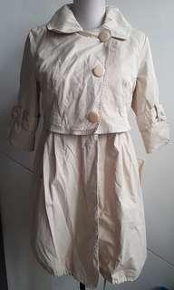 Kenzo trenchcoat size 36 small