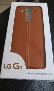 LG G4 Genuine Leather Battery Cover