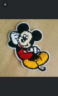 Sew on Patch - Mickey Mouse