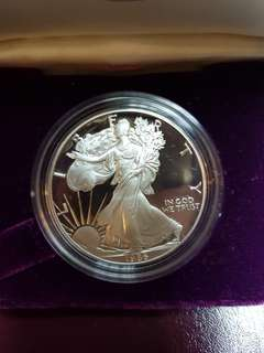 1986 Silver American Eagle Proof Coin