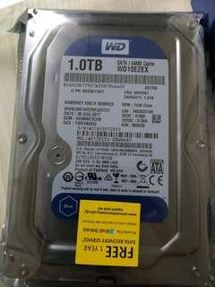 Western Digital WD Blue 1 TB Hard Drive