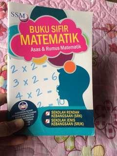 Buku Sifir Matematik