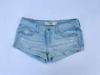 A&F Lined Denim Shorts