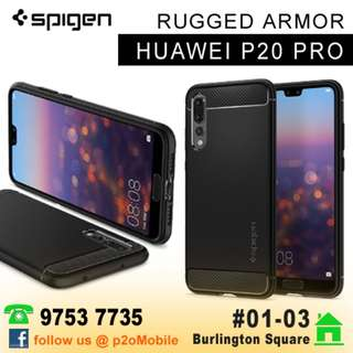 Spigen Rugged Armor for Huawei P20 Pro