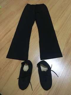 Jazz pants & shoes
