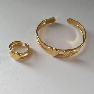 Bangle and Ring