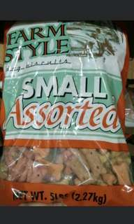 Farm Style Dog Biscuit Small Assorted