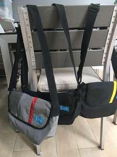Sling bags x3