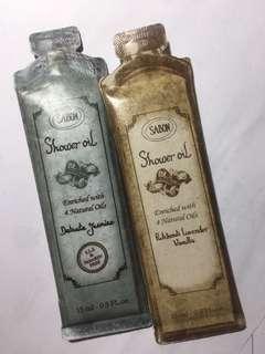 Sabon Shower Oil jasmine / lavender 15ml