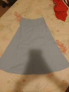 American Apparel Baby Blue Skirt