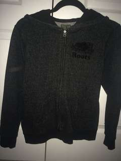 Roots sweater zip up hoodie