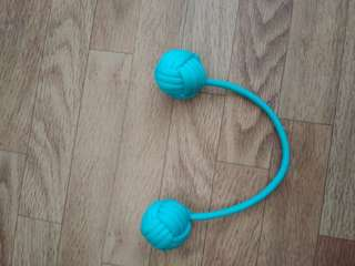 Teal shoelace