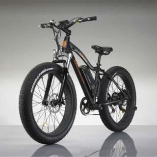 Stealth black Electric Fat Bike (View to offer)