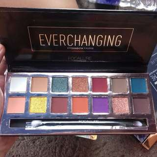 New Focallure everchanging palette 14 warna