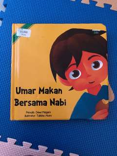 Umar makan bersmaa nabi (mizan)