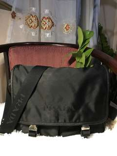 Authentic Prada Nylon Crossbody Bag