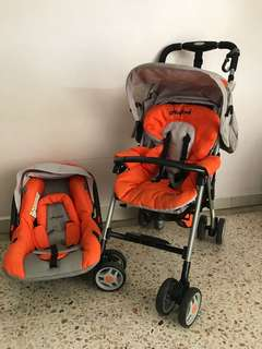 Second hand good conditions stroller 80% likely new - only used by one baby
