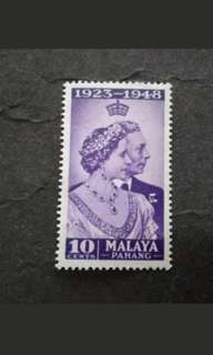 Malaya 1948 Silver Wedding Pahang - 1v MH Stamps