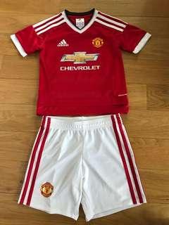Manchester United Jersey set