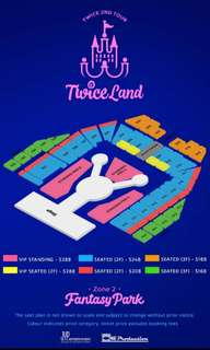 TWICE 2nd tour concert