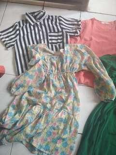 dress blouse murah