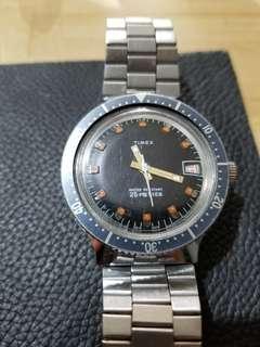 五十年代TIMEX手動上鏈潛水錶