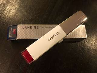Laneige Two Tone Lip Bar [No. 2 Red Blossom]