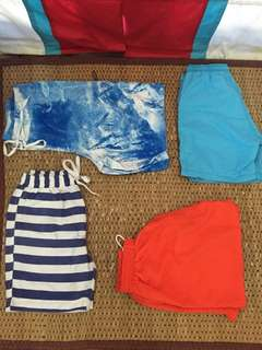 Summer shorts and swims