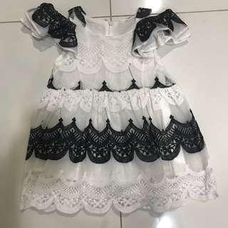 Victorian Dress 1-3yrs