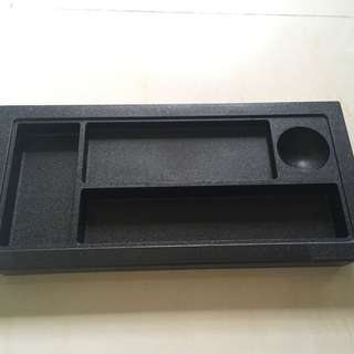 Black cupboard or desk organizer