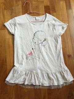 Zara girl shirt size 13/14 164cm