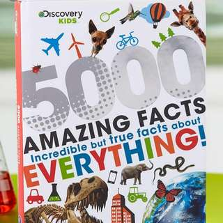 Brand New Discovery Kids 5000 Amazing Facts Incredible But True Facts About Everything