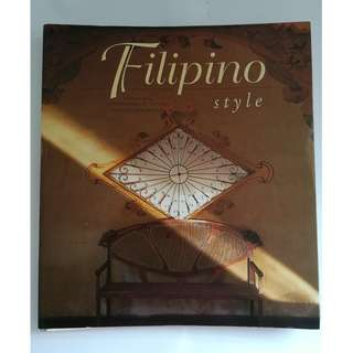 Filipino Style Architecture Book