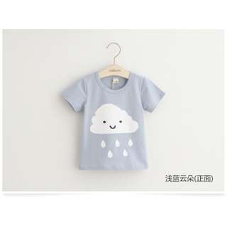 BNIP Baby cartoon printing short-sleeved T-shirt