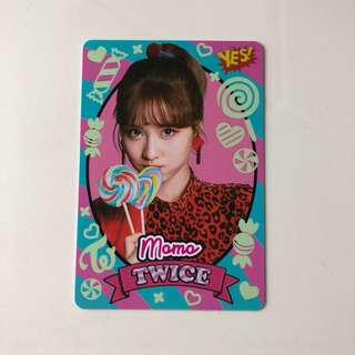 Twice Yes! Card 專輯卡 part3 夜光卡 Momo