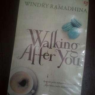 Novel walking after you by windry ramadhina