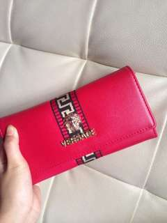Versace Red Purse