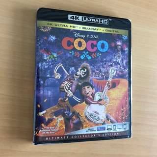 Coco 4K HDR Bluray Disney