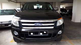 FORD RANGER RENTAL SEWA