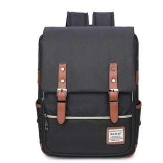 Japan fashion canvas unisex backpack big size