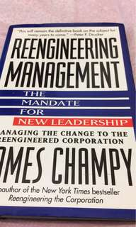 Engineering management - James Champy
