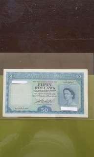 Malaya & British Borneo $50