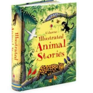 Brand New Usborne Illustrated Animal Stories Book
