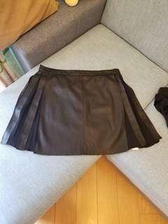 Zara 皮裙Lsize