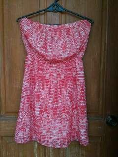 Bershka Chiffon Tube dress