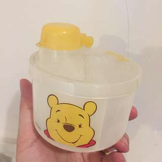 Disney Winnie the pooh milk / shake powder dispenser