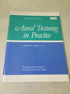 Music Grade 6-8 Aural Training in Practice Piano ABRSM